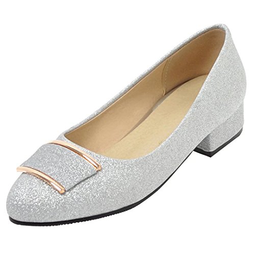 AIYOUMEI Low-Top Donna Argento