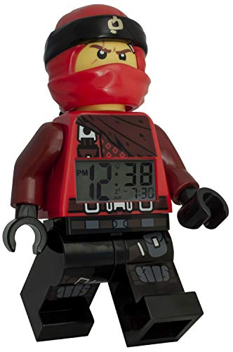LEGO Reloj Despertador Luminoso Figura Kai Ninjago