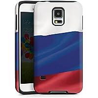 Handy Case Hülle Cover für Samsung Galaxy S5 ToughCase black/black - Russland
