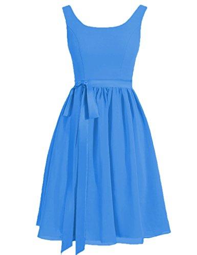 HUINI -  Vestito  - Donna Ocean_Blue