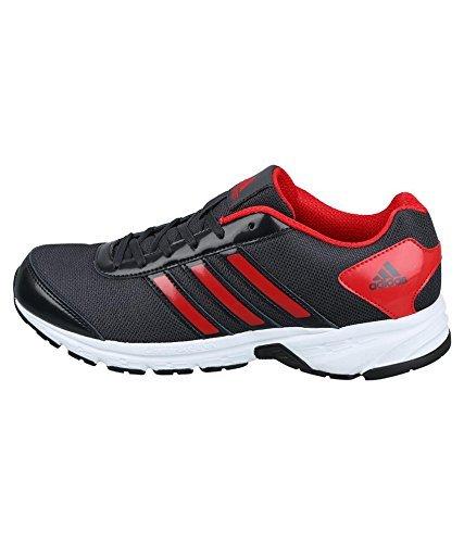 Adidas Men's Adisonic M Night Grey, Scarlet and Black - 9 UK