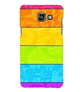 HiFi Designer Phone Back Case Cover Samsung A9 Pro :: Samsung A9 Pro Duos :: SamsungA9 Pro :: Samsung A9Pro ( Flower Design Colorful Pattern Design Type )