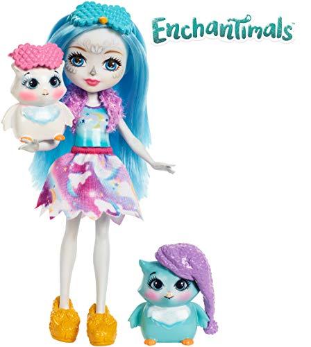 Enchantimals Fiesta de pijamas, muñeca con accesorios (Mattel FCG78)