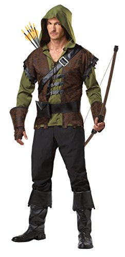 Creed Kostüm Assassins Moderne - California Costumes Kostüm Robin Hood - Größe XL