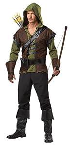 California Costume Disfraz Robin Hood-Talla XL