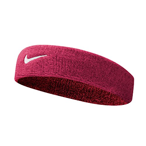 Nike Swoosh Headbands Stirnband, Vivid Pink/White, One size