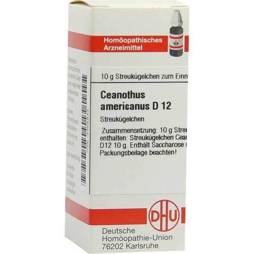 DHU Ceanothus americanus D12, 10 g Globuli