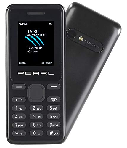 Simvalley Mobile Dual SIM Handys: Dual-SIM-Handy mit Kamera, Farb-Display, Bluetooth, FM, vertragsfrei (einfach-Handy) Dual Mobile