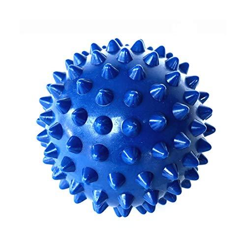Carry stone Spiky Massage Balls PVC Massage Roller Balls Selbst Massager für Übung Stressabbau Hals Muskeln Plantar Behandlung Blau 1 STÜCKE - Selbst-massagegerät Roller