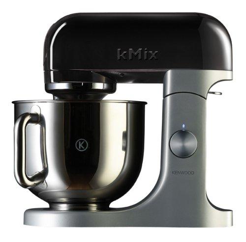 Kenwood Linea kMix KMX54 Kitchen Machine con Ciotola in Acciaio, Nero