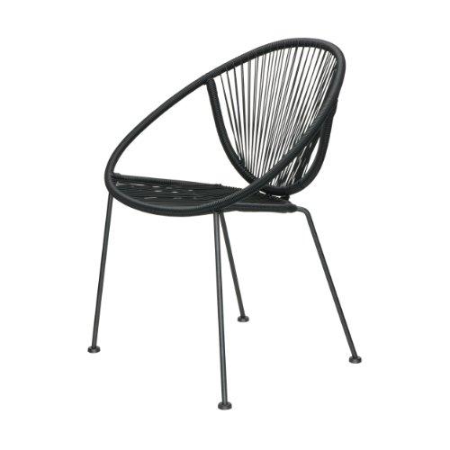 Apulia Sessel - schwarz