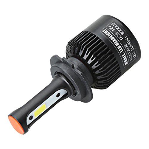 INTERNET 110W H7 COB LED 16000LM auto kit de faros de coche de conducción bombillas lámparas 6000K