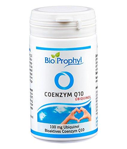 BioProphyl® Coenzym Q10 Ubiquinol - 100 mg bioaktives Coenzym Q10 aus fermentativer Herstellung - 60 vegetarische Kapseln