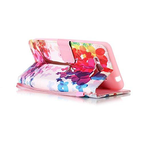 Samsung Galaxy Grand Prime G530 Hülle,Sunroyal PU Leder Brieftasche Schutzhülle Tasche Handyhülle Schutz Hüllen im Bookstyle Ledertasche mit Stand Funktion Kartenfächer Magnetverschluss Magnet Etui Sc Pattern 3
