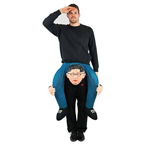 Bodysocks® Kim Jong-un Huckepack (Carry Me) Kostüm für Erwachsene