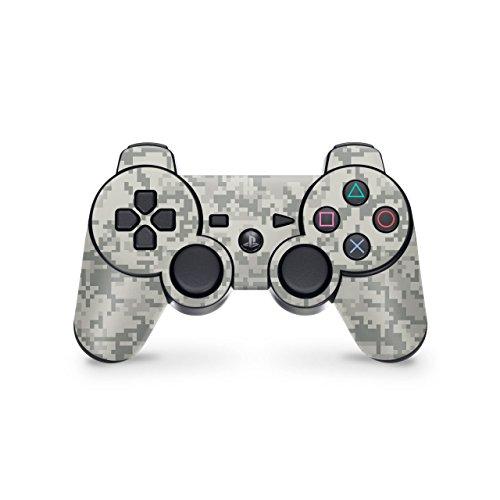 Skins4u Playstation 3 Controller Skin - Design Aufkleber Sticker Set für PS3 Gamepad - ACU Camo