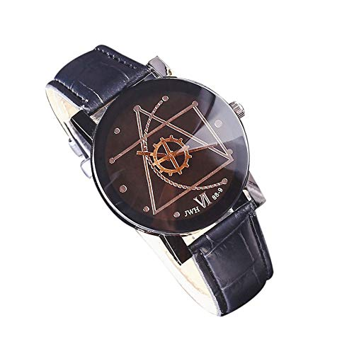 uhr Manner Business Uhren Quarz Analog Uhr Wrist Delicate Watch Luxus Klassisch Uhr Retro Armbanduhr,ABsoar ()