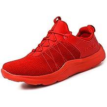 Odema hombres con cordones de los zapatos corrientes de la manera del deporte zapatillas de deporte