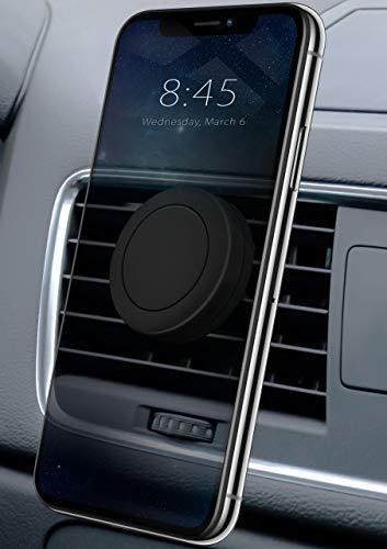 moex 360° Auto Handyhalterung [Lüftung - Magnetisch] für Samsung S Reihe | Kompakt + Unauffällig - Stabile Universal KFZ Lüftungshalterung -
