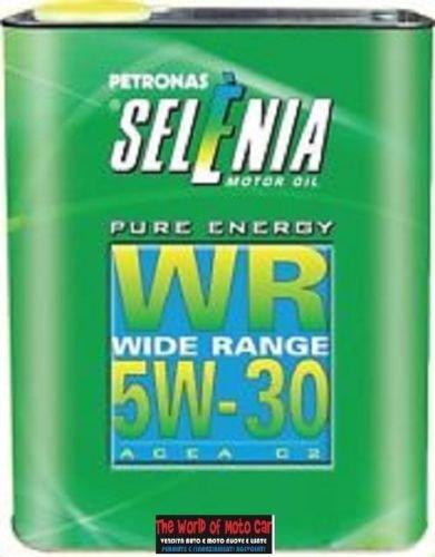 3 FUSTI DA 2 LT OLIO LUBRIFICANTE PETRONAS SELENIA PURE ENERGY WR WIDE RANGE 5W30 ACEA C2