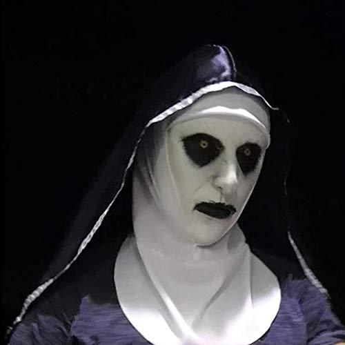 smzzz Horrormaske Film,perfekt für Fasching, Karneval & Halloween - Kostüm für Erwachsene - Latex, Unisex Einheitsgröße (Wirklich Gute Scary Kostüm)
