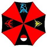 GirlXV Anime Regenschirm, zusammenklappbar, Teflon beschichtet, stabil, Winddicht und einfach K 93cm