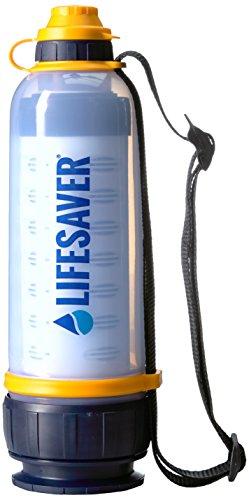 Lifesaver 4000 Liter Ultra Filter Wasser Flasche - sicheres Trinkwasser ohne chemikalien und ohne faulen Nachgeschmack -