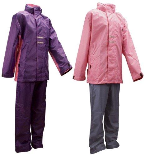 Ralka Mädchen 43sd Regen Anzug, Mädchen, 8716404248888, pink/grau, Size 176