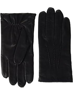 Tommy Hilfiger Herren Strickmütze Pima Cotton Cashmere Beanie, Schwarz (Black 002), One size (Herstellergröße:...