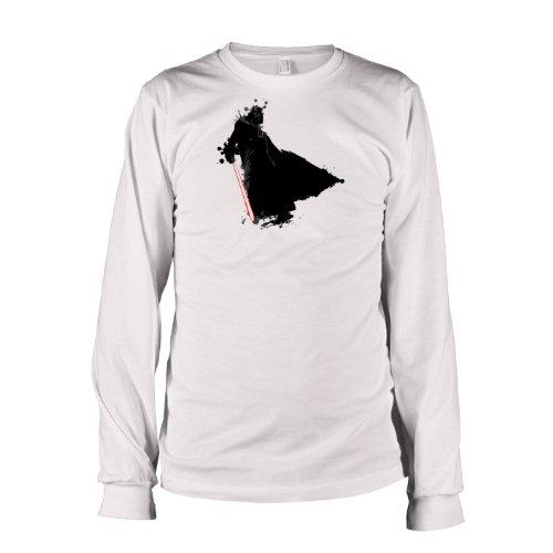 TEXLAB - Vader Splash - Langarm T-Shirt Weiß