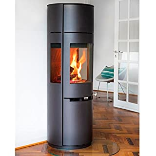 Aduro 9.7 Wood Burning Stove 6 kW Black DEFRA, High Efficiency Stylish Danish Design & Technology