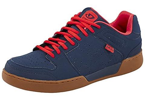 Giro Jacket Shoes Men dress blue/gum Größe 43 2017 Schuhe