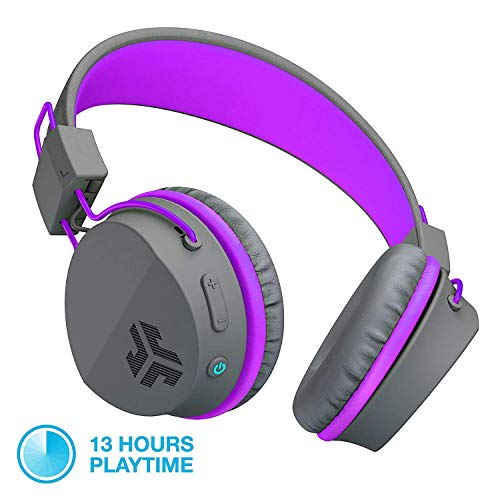 JLab Audio JBuddies Studio Casque Pliable sans Fil Bluetooth - Kid Friendly la Batterie de 13 Heures Bluetooth 4.1 âges 6-16