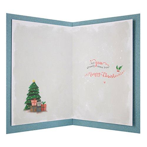 Auguri Di Natale Per Il Marito.Hallmark Biglietto Marito Make A Wish Auguri Di Natale