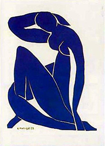 1art1 41270 Henri Matisse - Blauer Akt III Poster Kunstdruck 80 x 60 cm