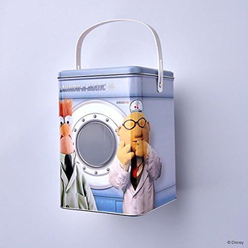 Waschpulverdose mit Muppet-Motiv - Blech - mehrfarbig - 15,2 x 15,2 x 22,1 - Muppets - BUTLERS