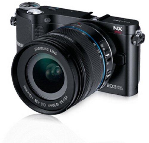 Samsung NX200 Systemkamera (20,3 Megapixel, 7,6 cm (3 Zoll) Display, i-Funktion) inkl. 18-55mm NX Objektiv - 3