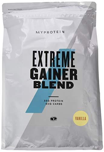 Extreme Weight Gainer (Myprotein Hard Gainer Extreme Vanilla, 1er Pack 1 x 2500 g)