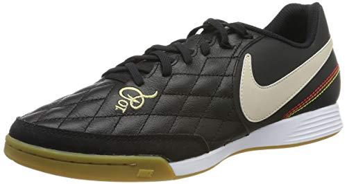Nike Herren Legendx 7 Academy 10r Ic Fußballschuhe, Mehrfarbig (Black/Lt Orewood BRN/Metallic Gold 027), 45.5 EU (Nike-herren-schuhe-indoor)