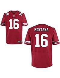 16 Joe Montana Trikot San Francisco 49erss Jersey American Football Shirt Mens
