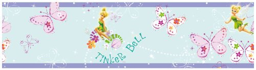 Tinkerbell-Schmetterling Bordüre Selbstklebende Tapetenbordüre