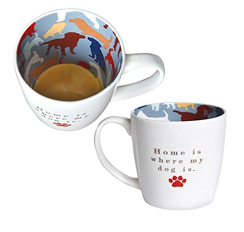 Home Is Where My Dog Is Inside Out Mug In Gift Box Special Mugs Gifts