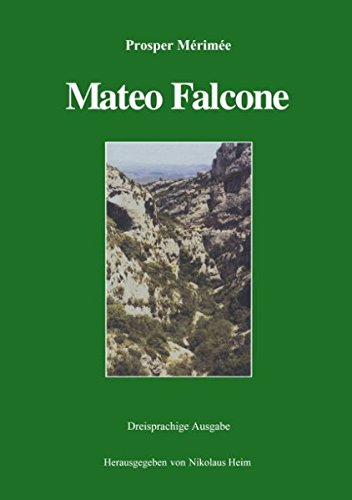 Mateo Falcone par Prosper Mrime