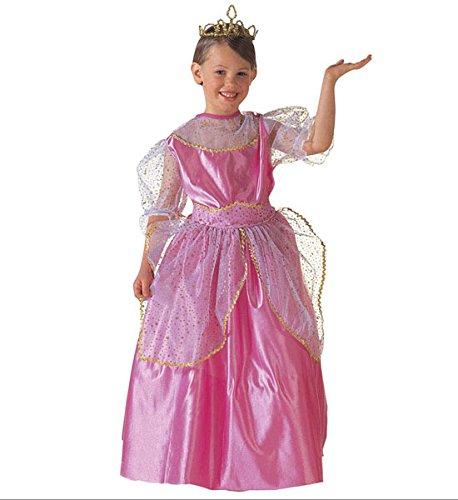 WIDMANN Kinderkostüm Prinzessin Beauty Queen Kostüm für Kinder und Jugendliche Größe 140