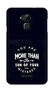 AMEZ you are more than the sum of your mistakes Back Cover For Coolpad Note 3