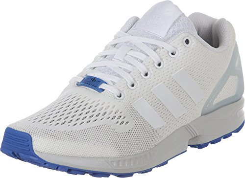 adidas ZX Flux, Espadrillas Basse Uomo Bianco
