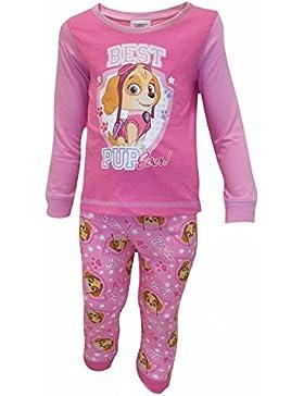 Baby Mädchen Paw Patrol pink Schlafanzug 6 bis 24 Monate 27514