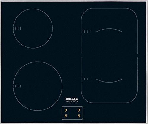Miele km6092d 230/50plaque électrique/induction/62,6cm/Design/Souplesse et rapidement, 4zones de cuisson inclus 1Power Flex...