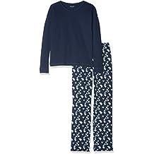 060d337e21 Schiesser Zweiteiliger Schlafanzug Family Mädchen Anzug Lang