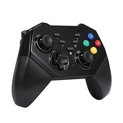 Wetoph Xbox 360 Wireless Controller, GD02 Nachleuchten PC Controller Transparente Gamepad mit 8 LED-Leuchten Unterstützung Xbox 360 und PC (Windows XP / 7/8/10) blau - 360 Blau Xbox Controller Led